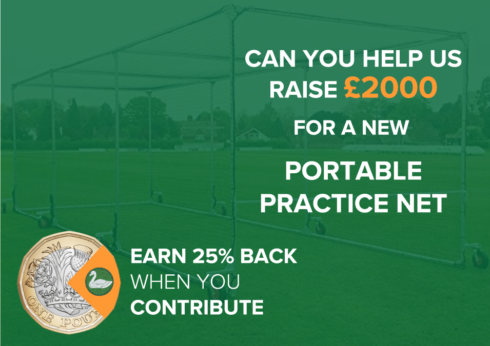 Mistley CC News: Fundraiser launched to buy a new portable cricket cage